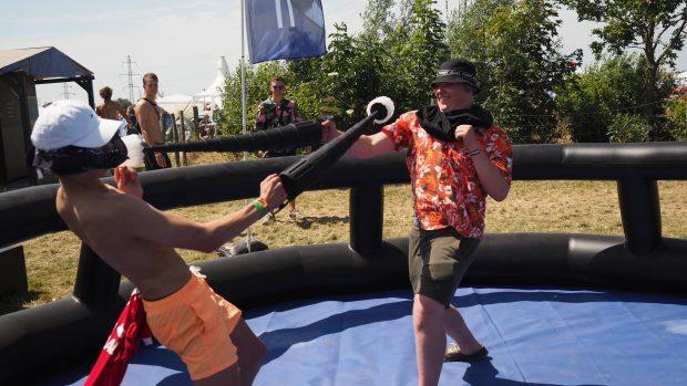 Jabii blev testet af festivalsgæsterne på Roskilde Festival 2019. Foto: Jabii.