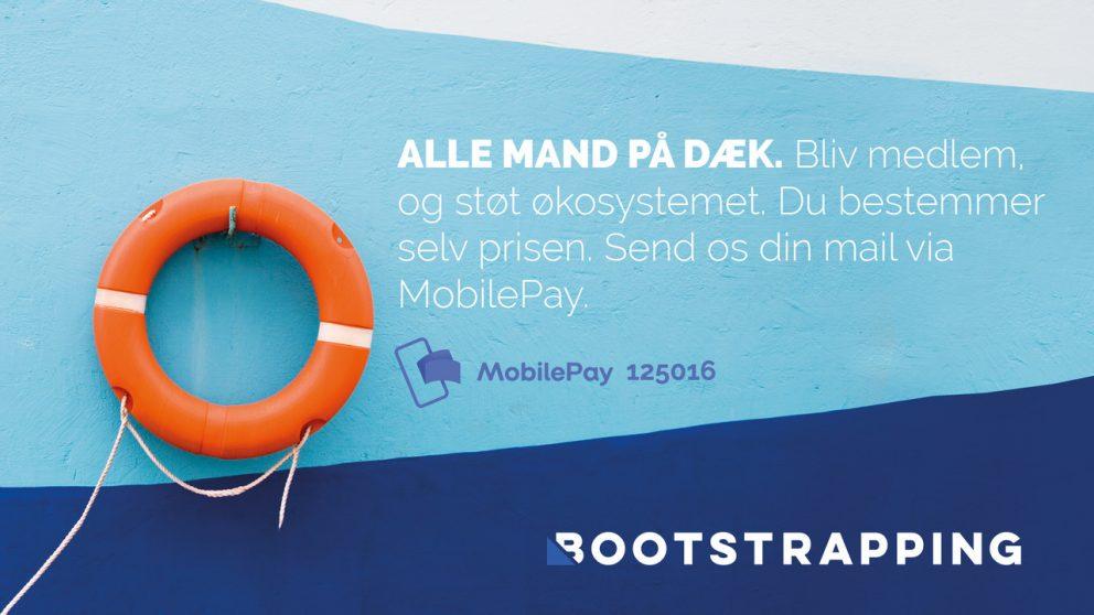 Bliv medlem og støt økosystemet. Du bestemmer selv prisen. Send os din mail via MobilePay 125016.