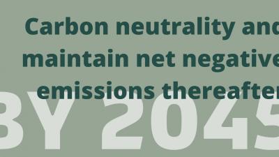 California's ambitious climate goal.