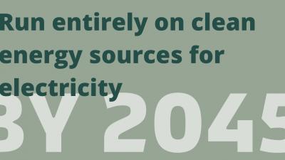 California cleantech goal